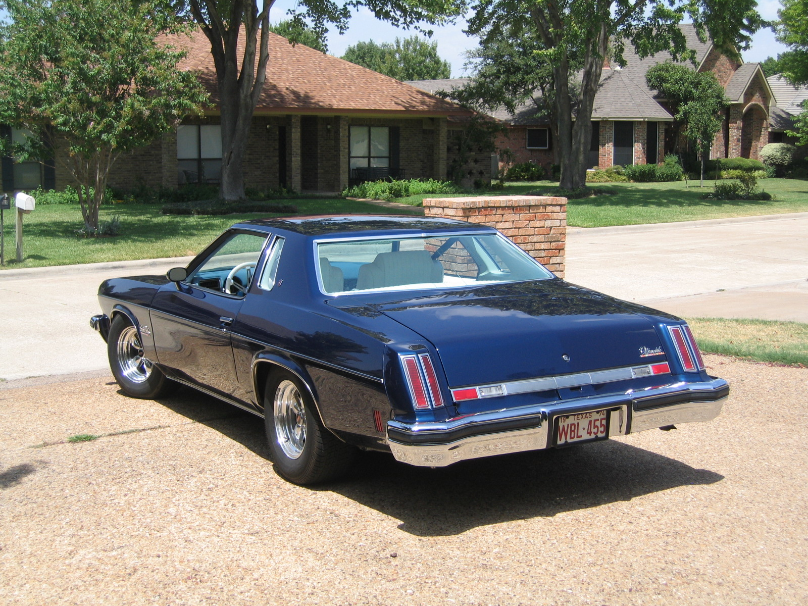 Dear old dad 39 s homepage for 1974 cutlass salon for sale