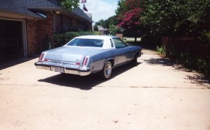 Dear old dad 39 s homepage for 1974 oldsmobile cutlass salon